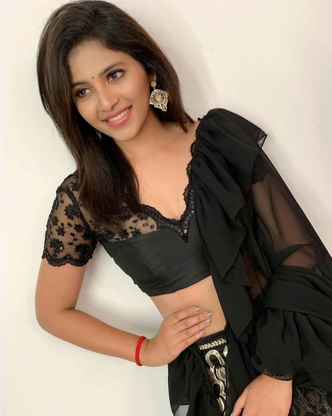 Anjali Birthday Dress In Black