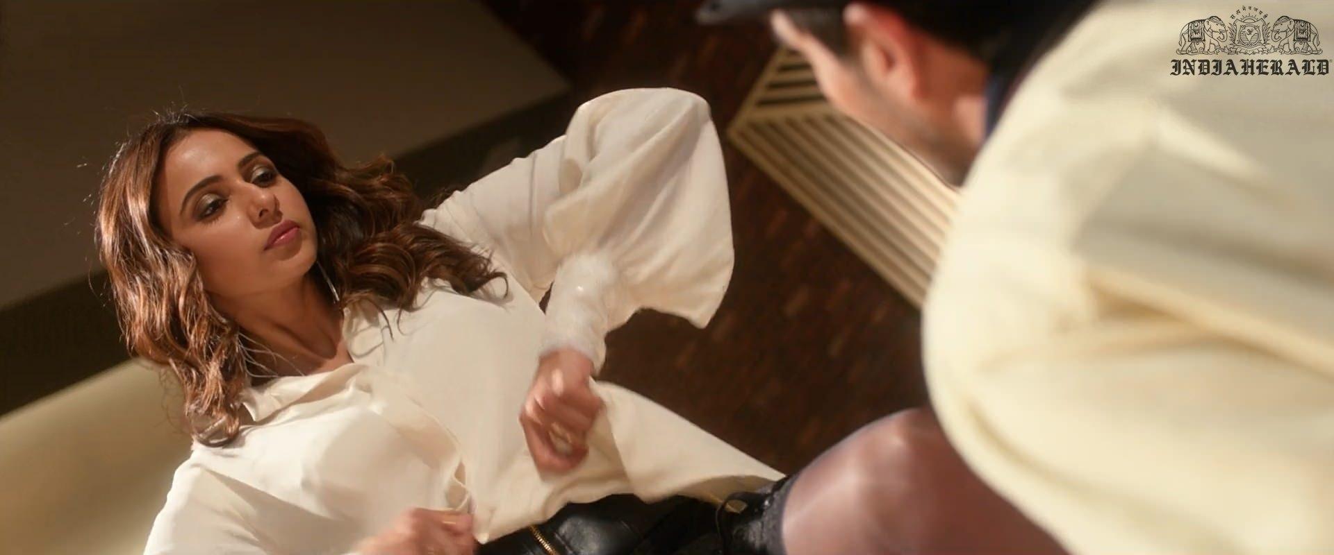 Hot Photos of Rakul Preet as Stripper Set 1