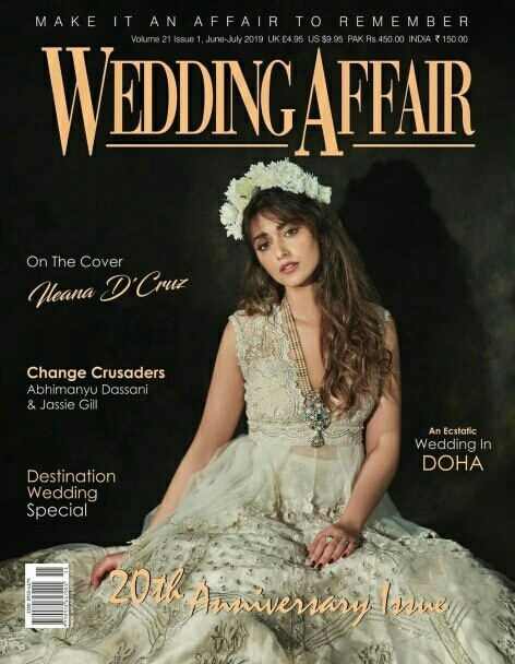 Ileana Stills From Wedding Affairs Magazine Cover Shoot