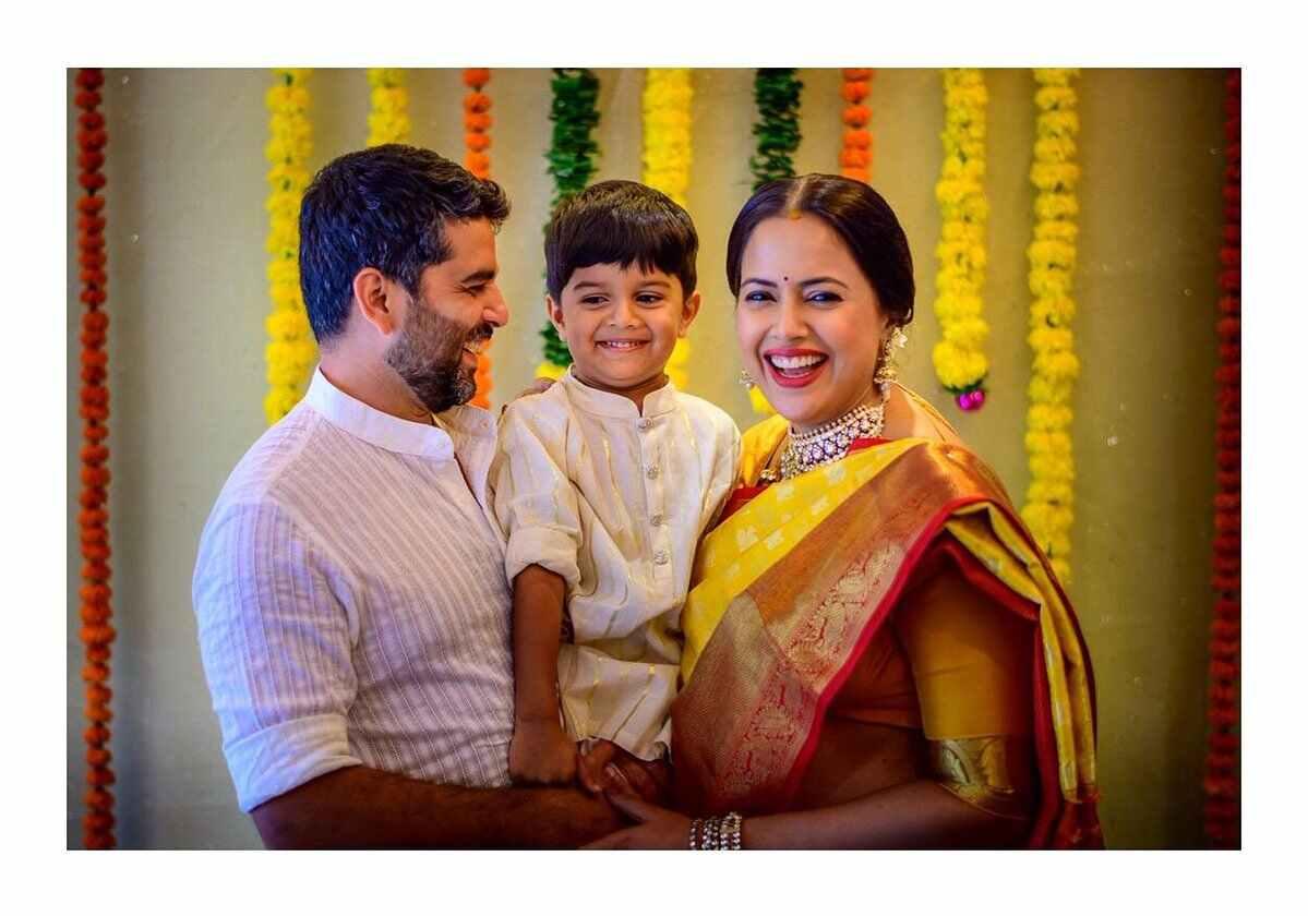 Indian Actress Sameera Reddy Baby Shower Celebrations Photos
