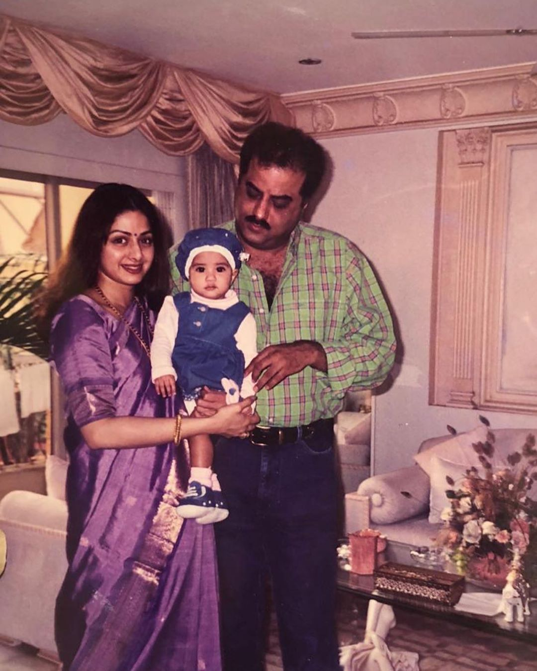 Janhvi Kapoor Wishing Her Father Happy Fathers Day