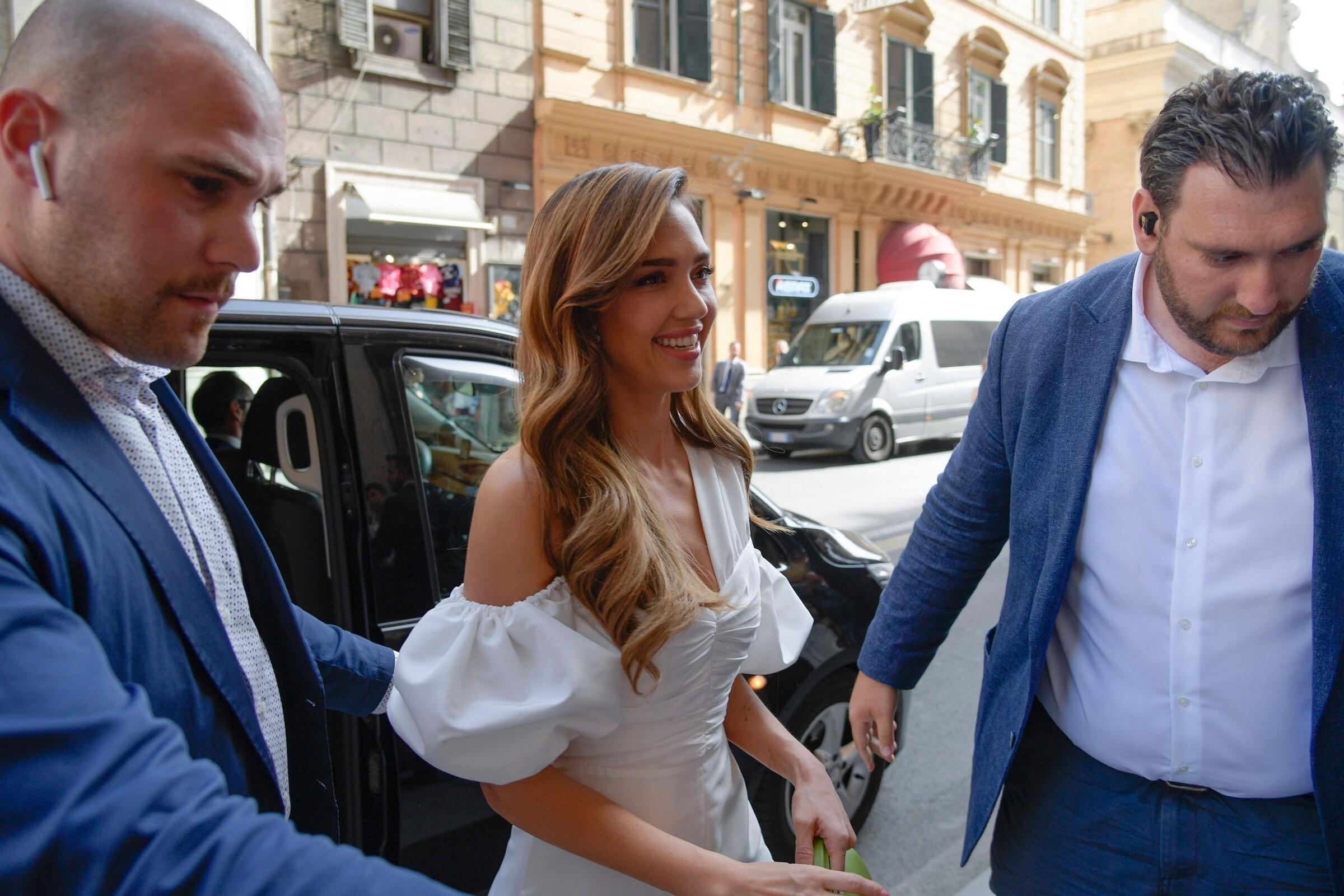 Jessica Alba Seen At Rome Italy Set 2