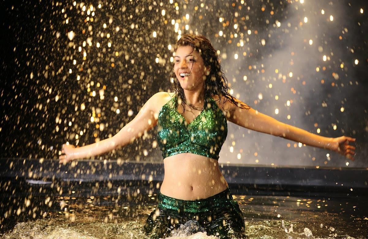 Kajal Aggarwal Rare Unseen Hot And Wet Photos