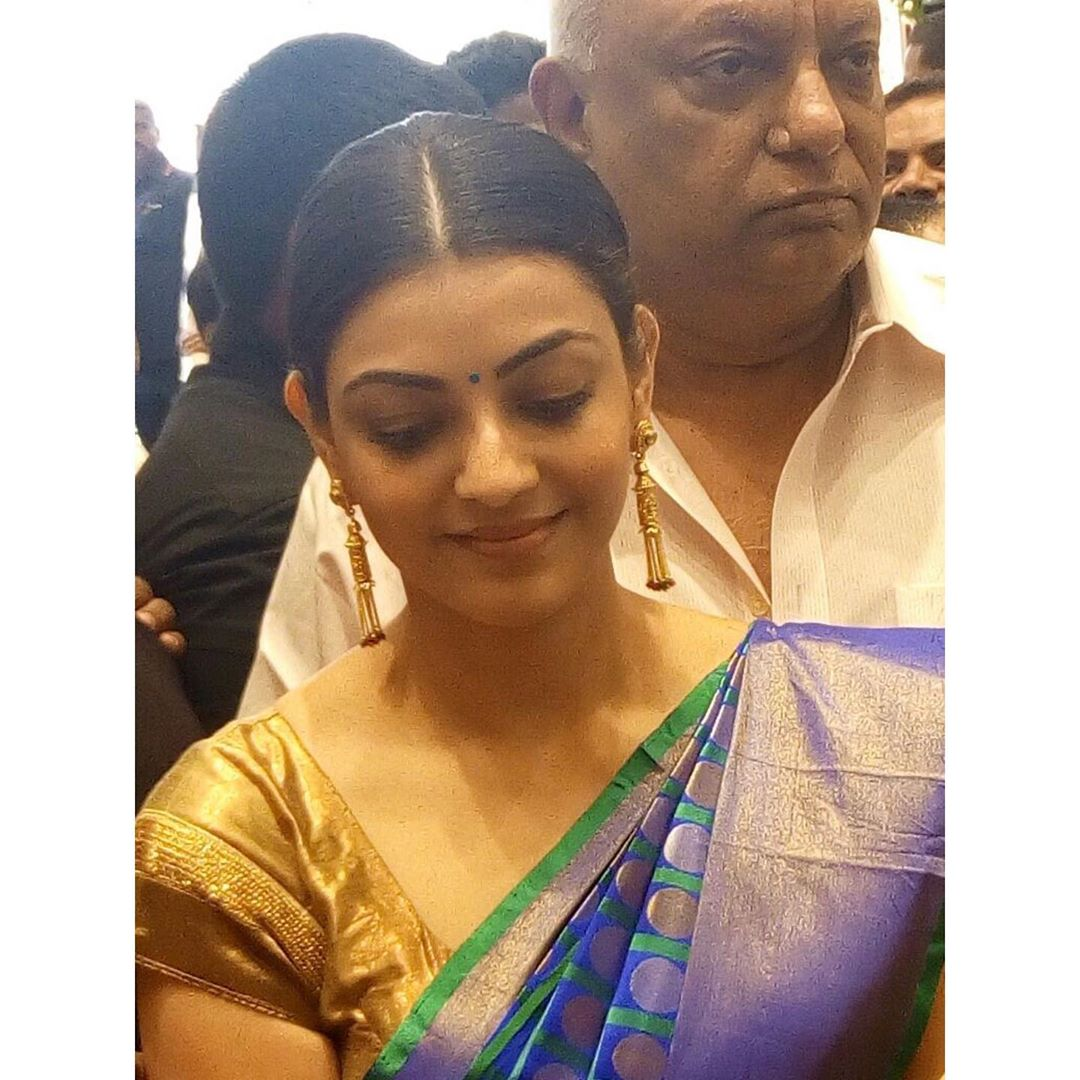 Kajal Aggarwal Wishing Her Dad Happy Fathers Day