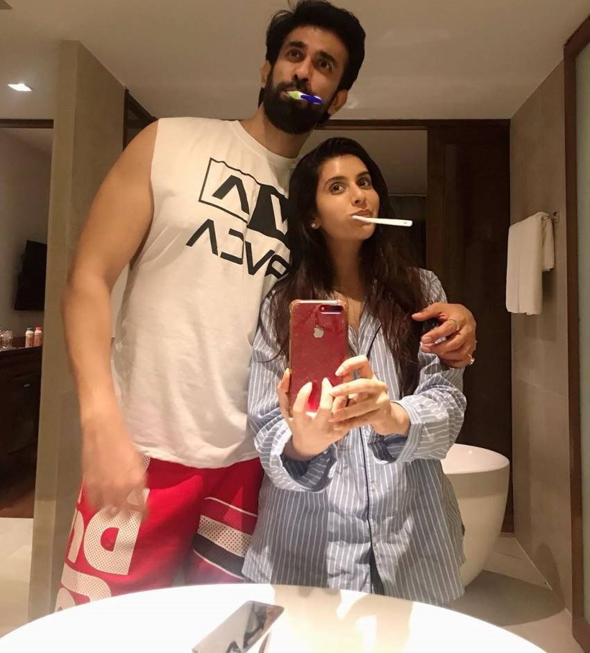 Leaked Honeymoon Hot Photos Of Charu Asopa Rajeev Sen Set 2