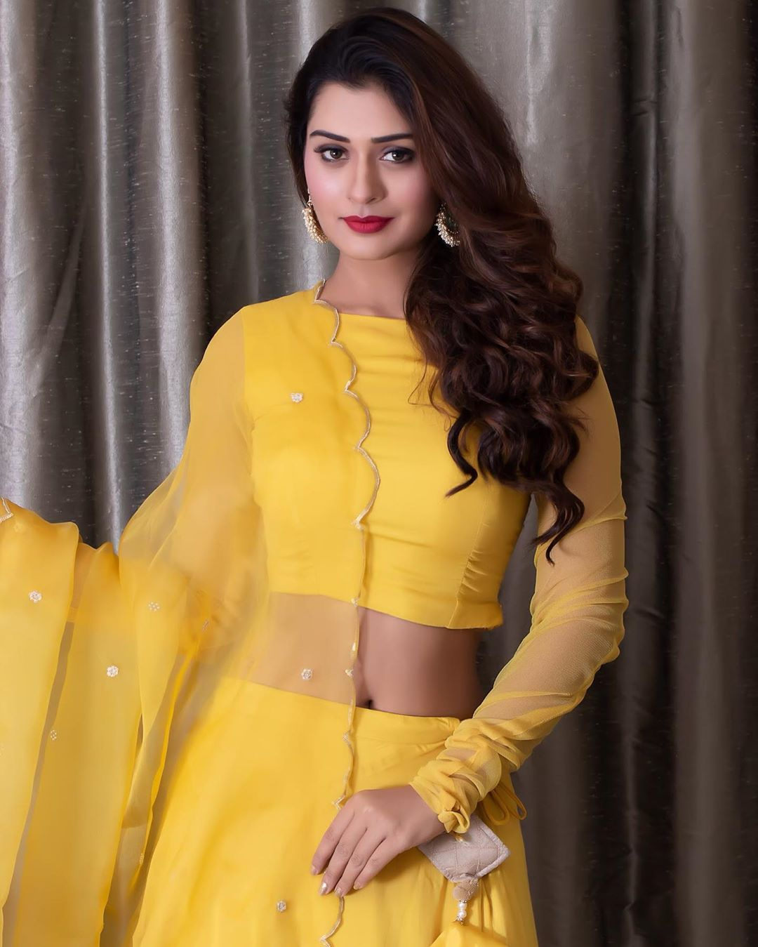 Payal Rajput Shows Her Curves