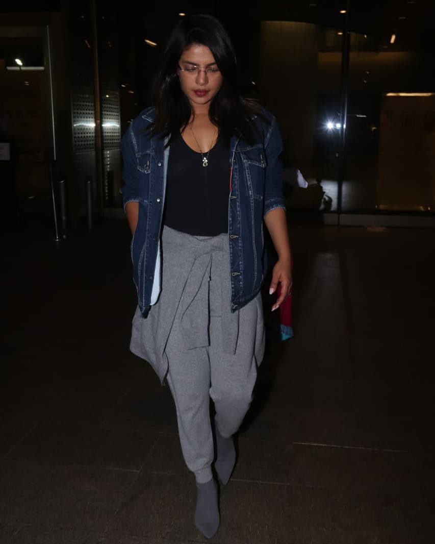 Priyanka Chopra Spotted At LAX