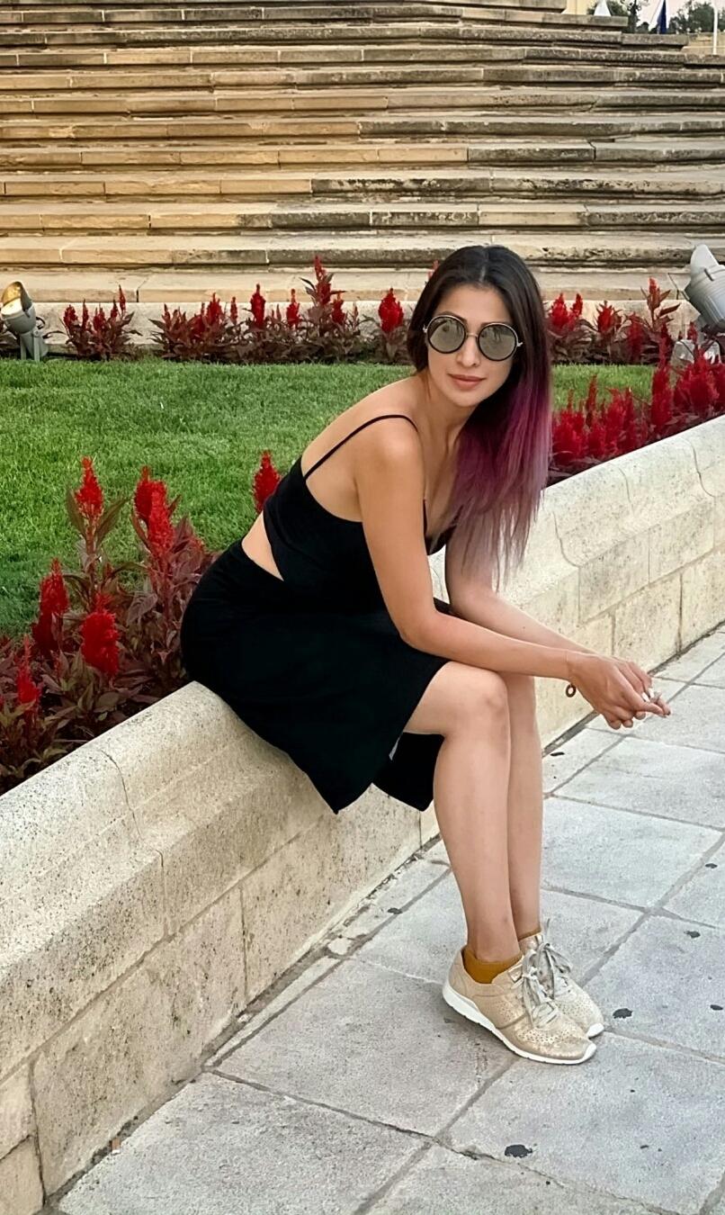 Raai Laxmi Spices The Hotness In Black Dress