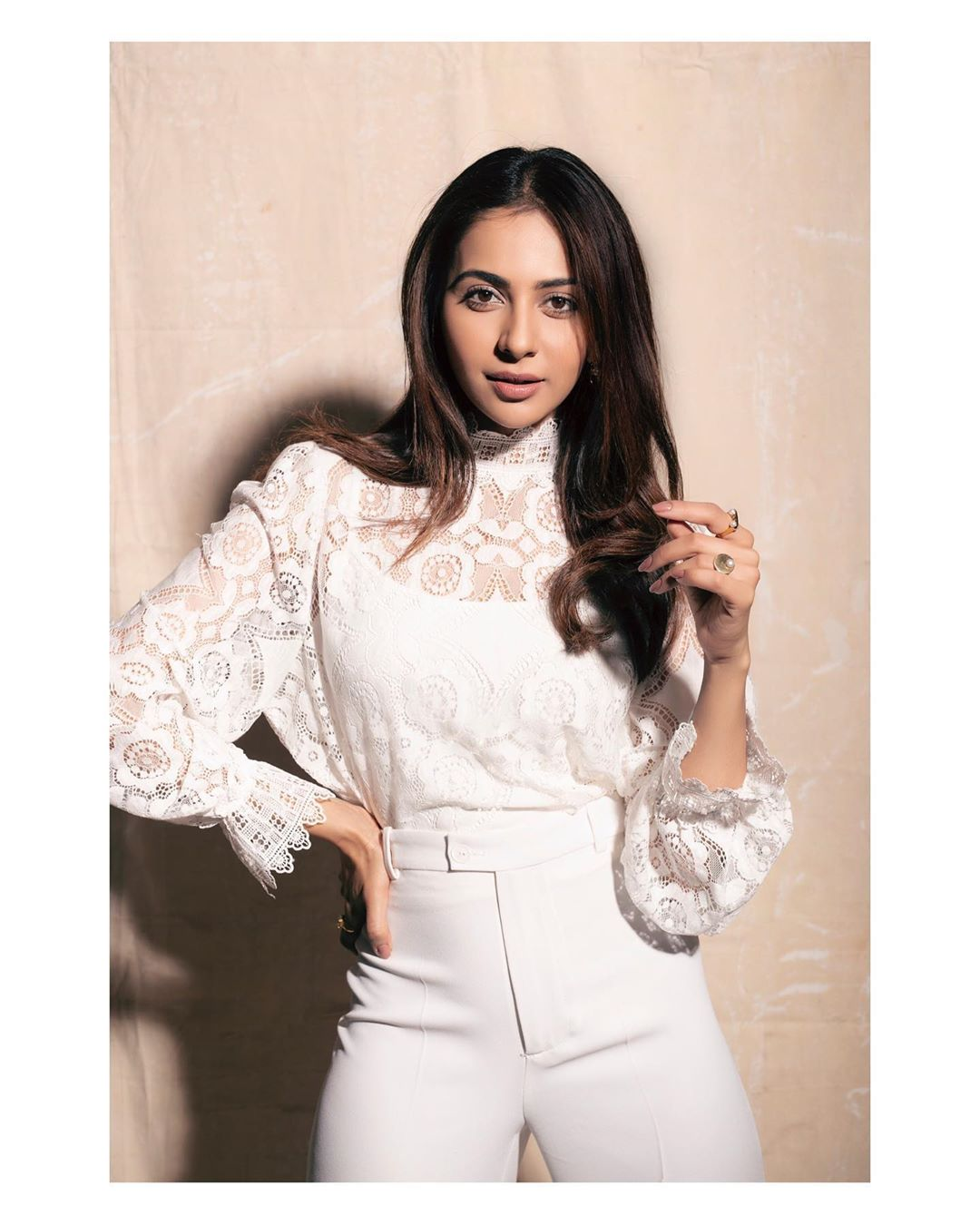 Rakul Preet Milky White Photo Shoot