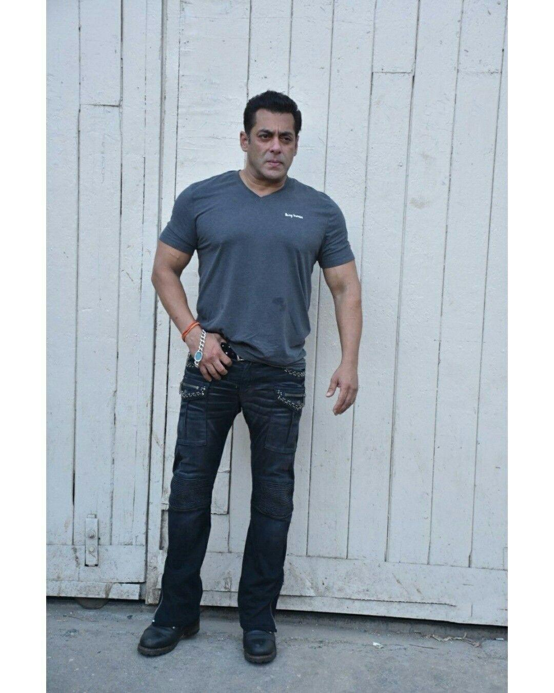 Salman Khan during the promotion of Bharat