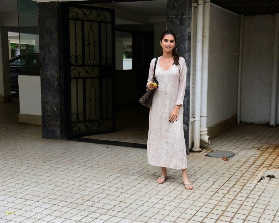 Tara Sutaria And Ahan Shetty Seen At Bandra