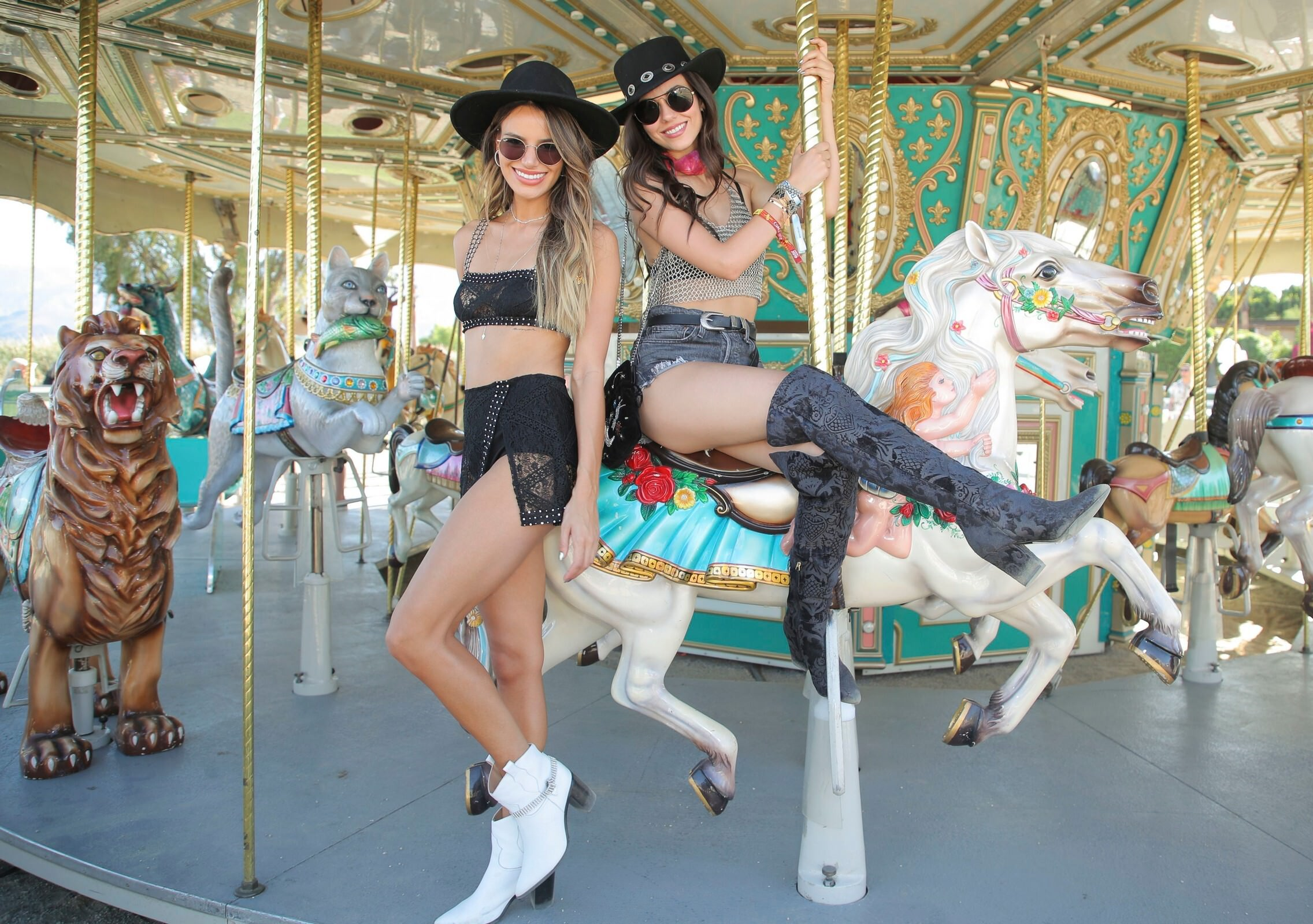 Victoria Justice At Revolve Party Coachella Valley Music And Arts Festival