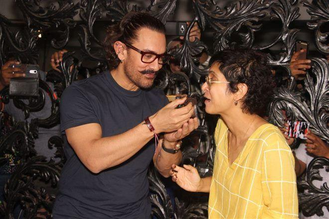Aamir Khan Birthday Celebration Photos