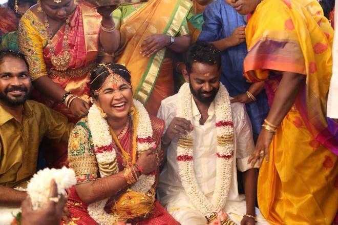 Actor Ramesh Tilak & Navalakshmi's Marriage Photos