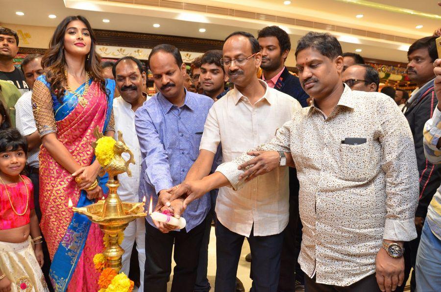 Actress Pooja Hegde Launches Anutex Shopping Mall Photos