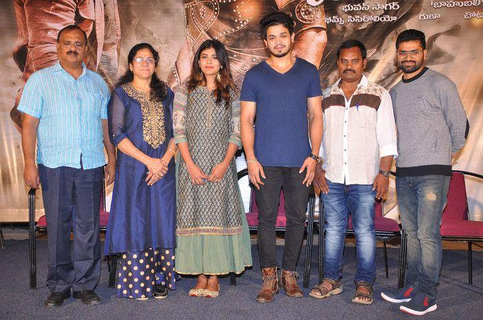 Angel Movie Press Meet Stills
