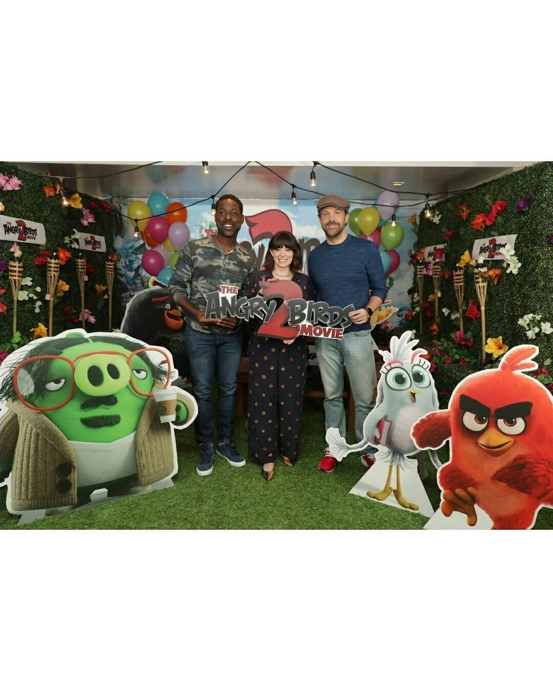 Angry Birds 2 Photocall event