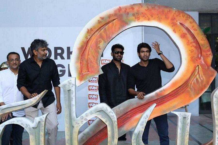 Baahubali 2 Hindi Movie Trailer Launch Photos
