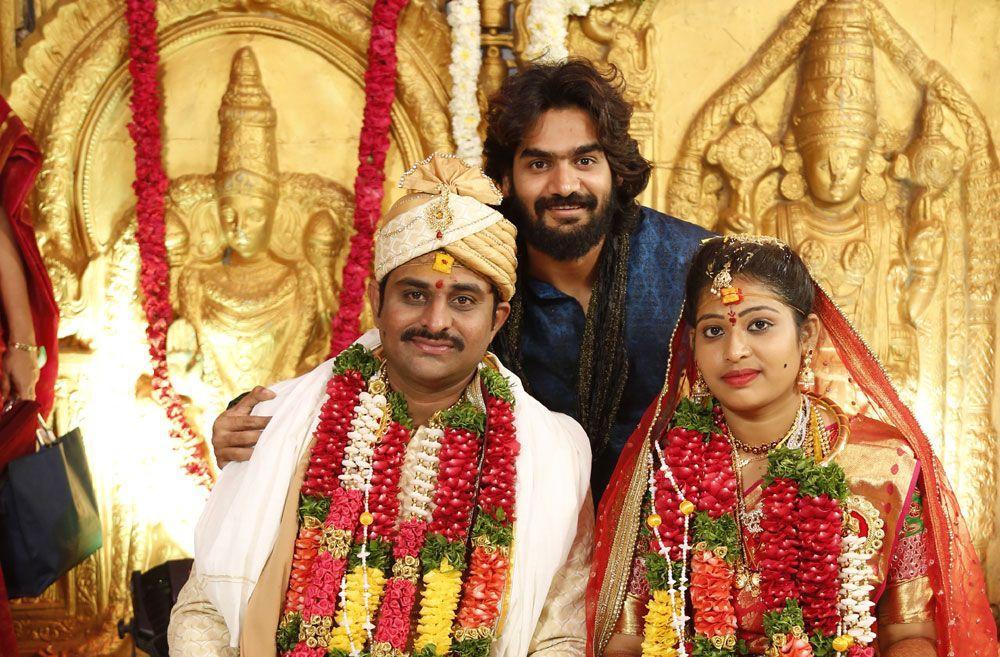 Celebrities at RX 100 Director Ajay Bhupathi Wedding