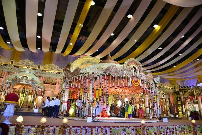 Celebs at Bandla Ganesh's Elder Brother's Daughter's Wedding Photos