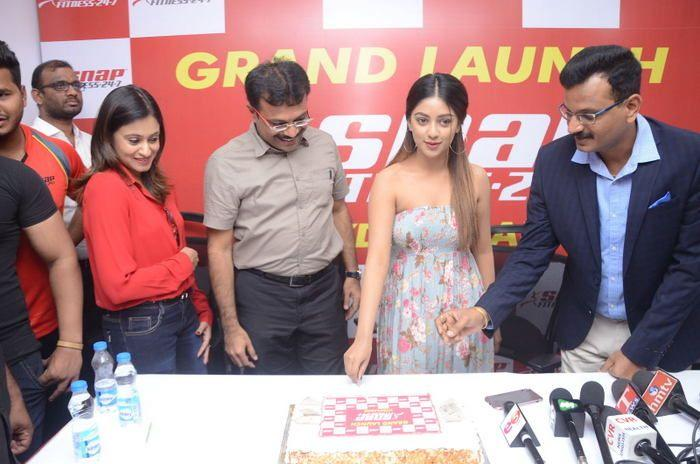 Celebs at Snap Fitness Gym Launch Photos