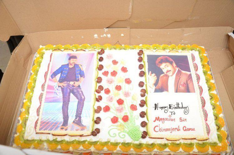Chiranjeevi Birthday Celebrations at Shilpakala Vedika