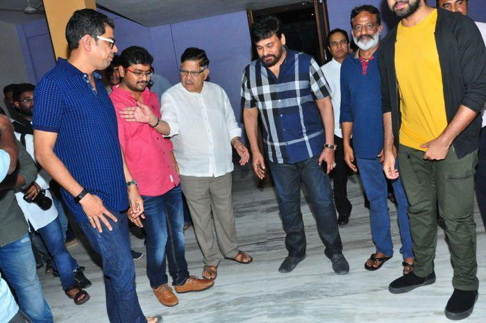 Chiranjeevi Watched Vijetha Movie Stills