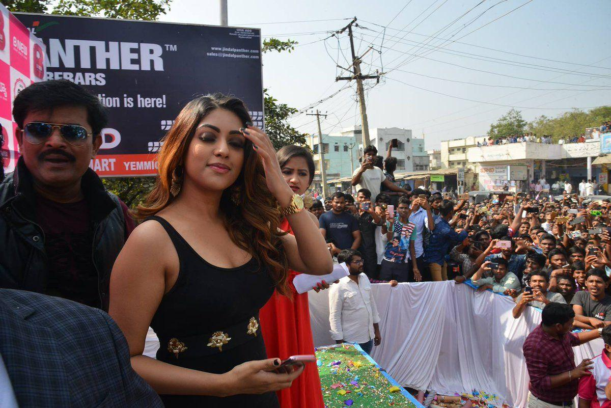 Gorgeous Anu Emmanuel Launches BNew Mobile Store Photos