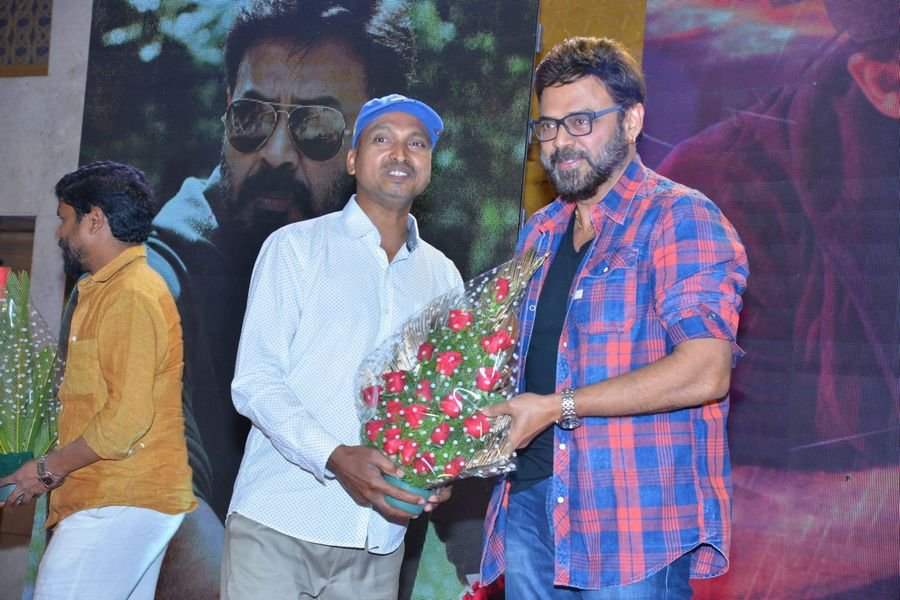 Guru Movie Trailer Launch Pics