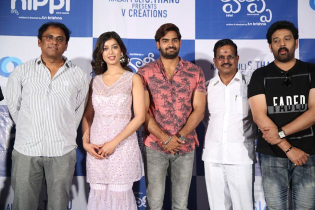 Hippi Movie Pressmeet Stills