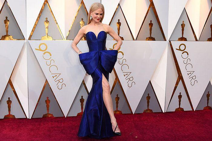 Hollywood Actors at Oscars 2018 Red Carpet Photos