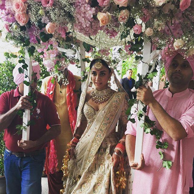 Inside photos of Kai Po Che actor Amrita Puri's Bangkok wedding