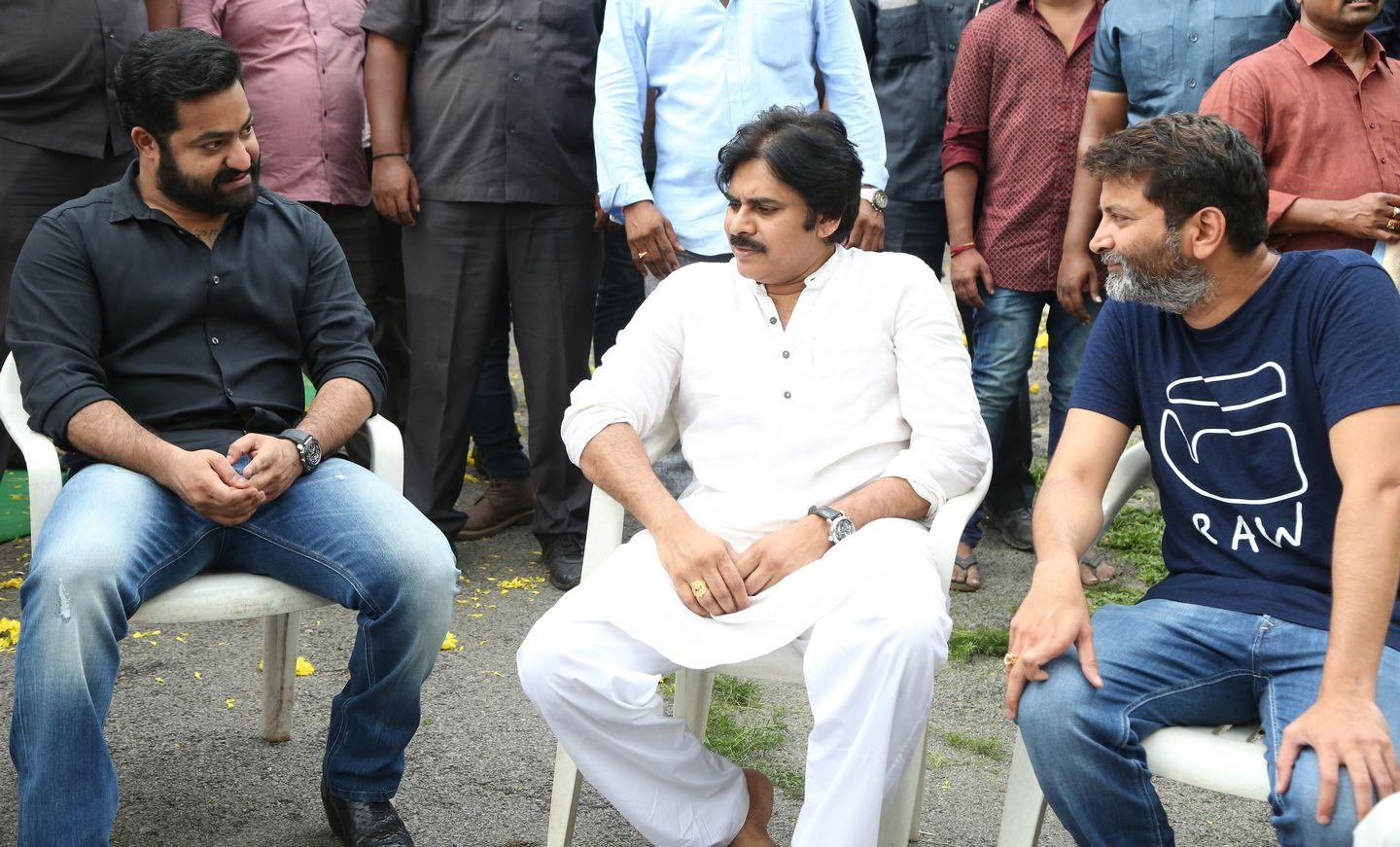 NTR & Trivikram New Movie Launch HD Photos
