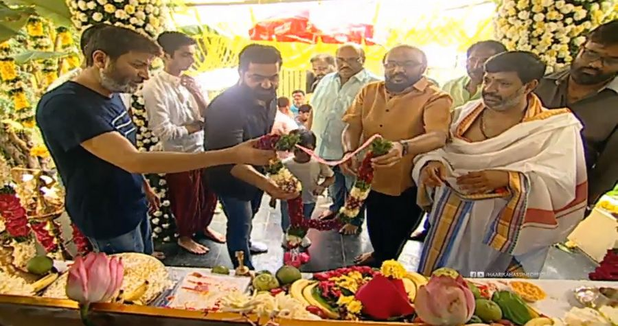 NTR 28 Movie Pooja Ceremony Launch Pictures