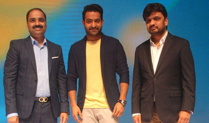 NTR as Celekt Mobiles Brand Ambassador Photos
