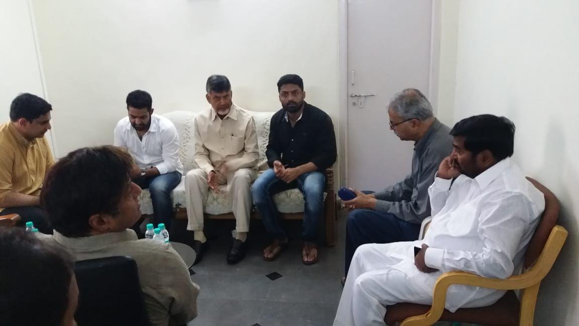 Nandamuri Family And Fans Visit Hospital Photos