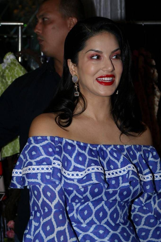Sunny Leone Stills At Maheka Mirpuris Summer Coll Preview Launch