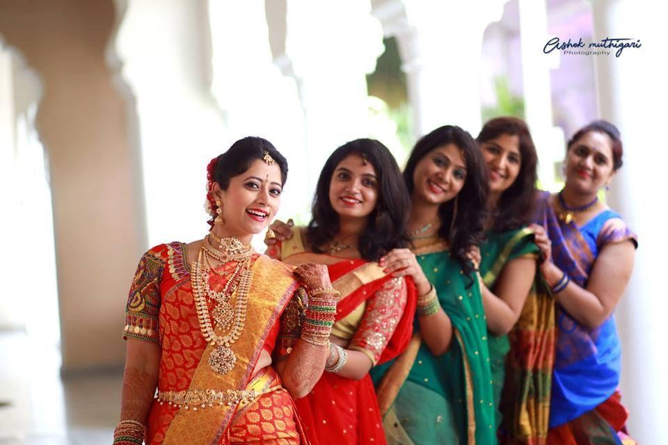 Telugu TV Actress Lahari Marriage Exclusive Photos