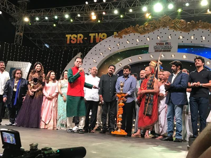 Tsr Tv9 Awards Function Photos