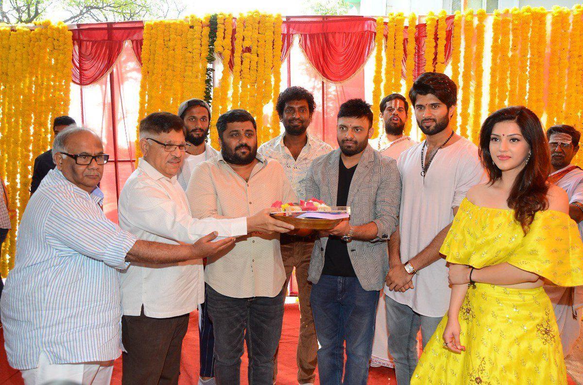 Vijay Devarakonda & Mehreen Pirzada New Movie Launch Photos