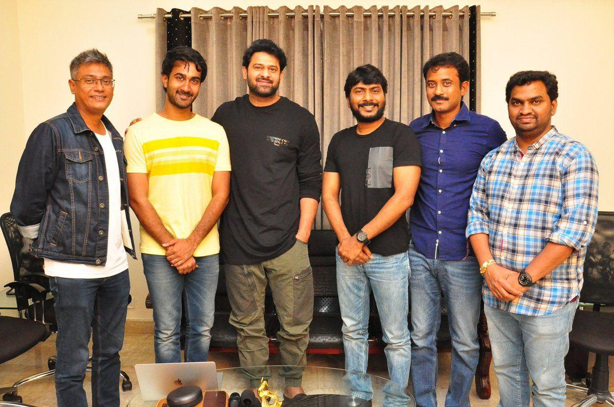 Young Rebel Star Prabhas watched & appreciated Paper Boy Trailer