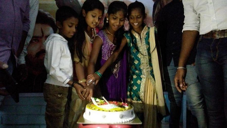 Young Tiger NTR Fans Birthday Celebration Photos