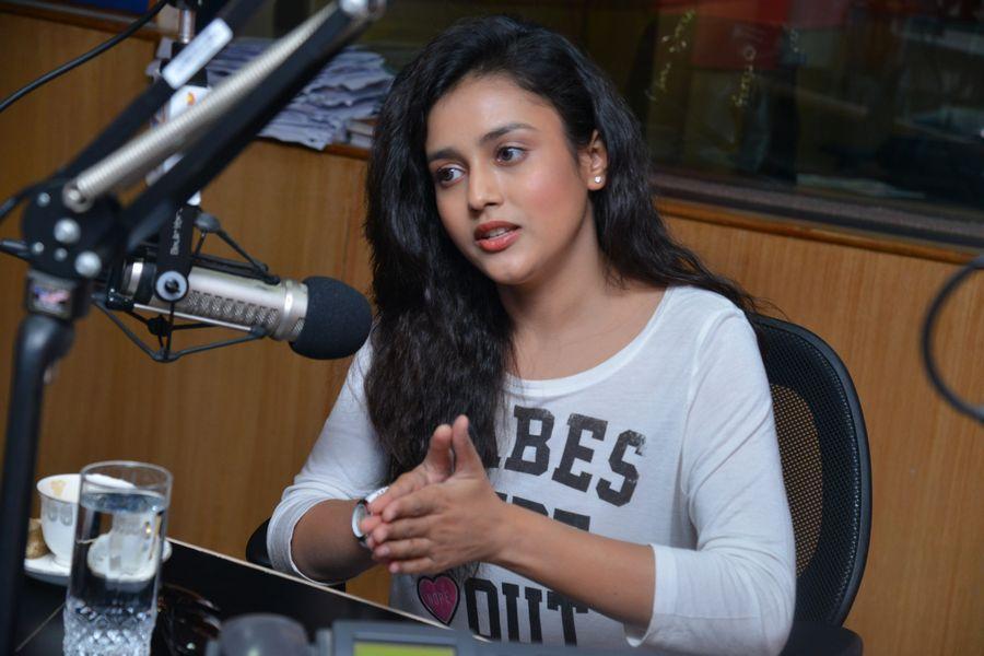 Babu Baga Busy Movie Team at Radio City Photos