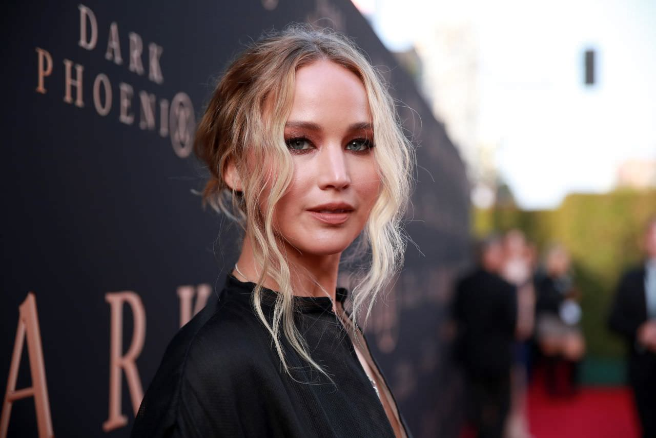 Jennifer Lawrence At Dark Phoenix Premiere In Hollywood