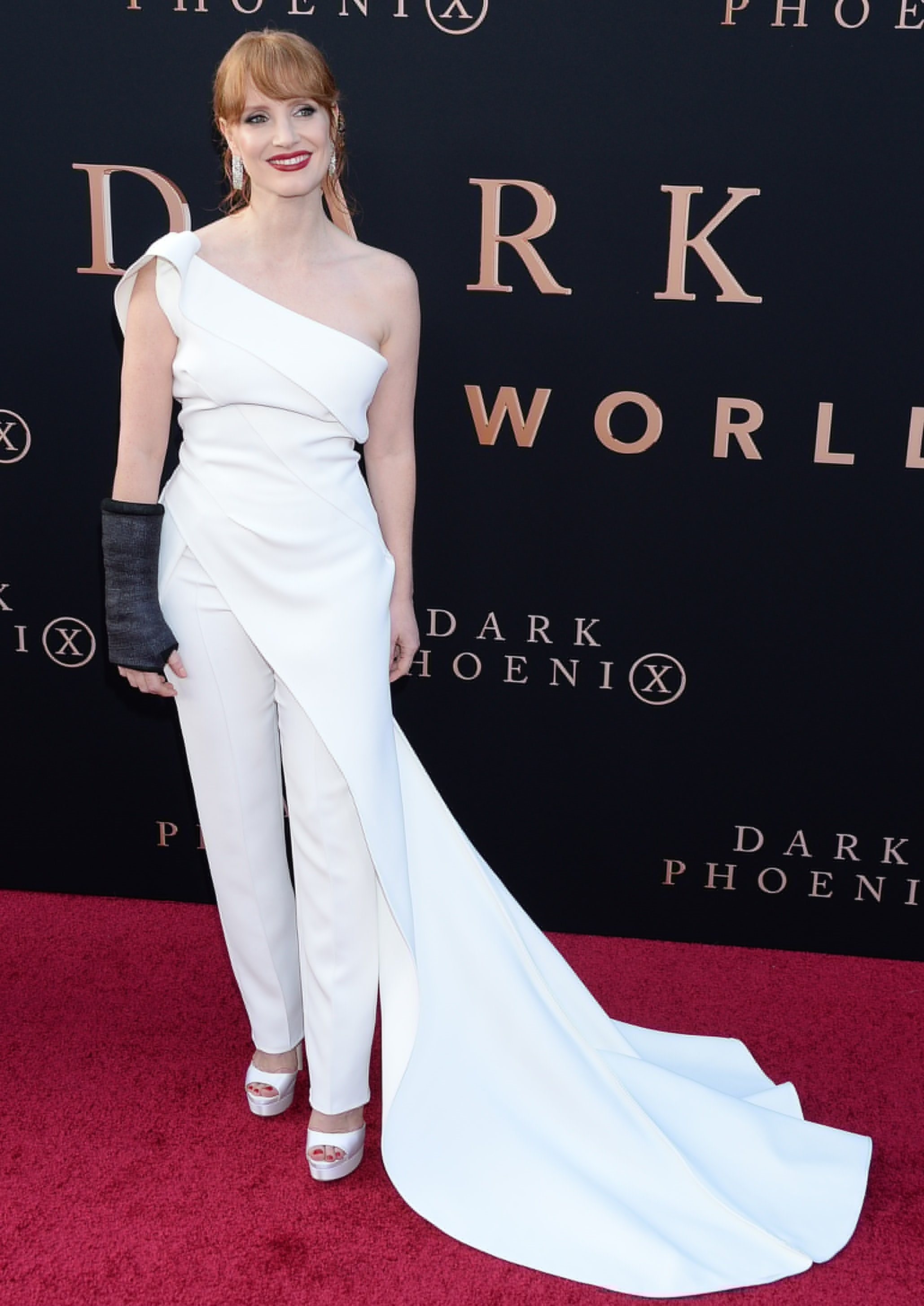 Jessica Chastain At Dark Phoenix Premiere In Hollywood