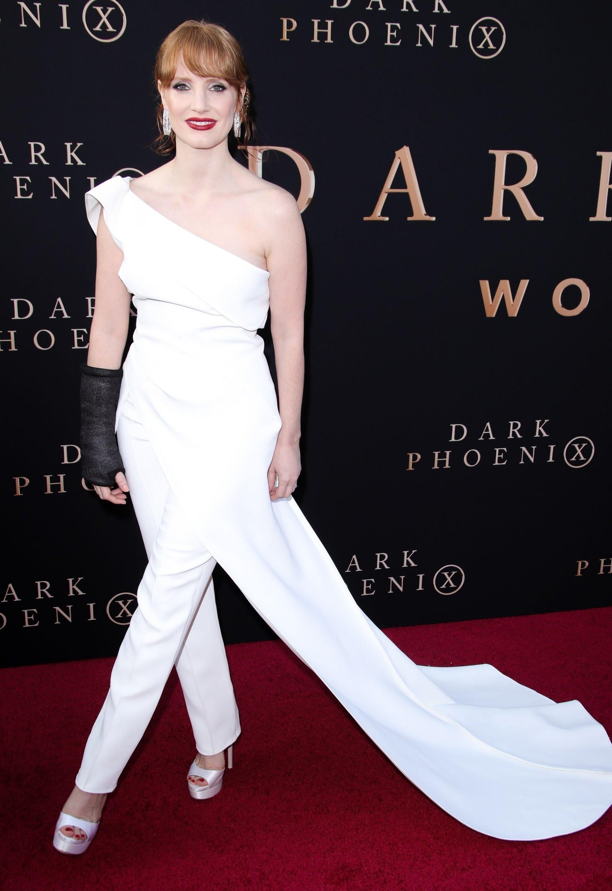 Jessica Chastain At Dark Phoenix Premiere In Hollywood