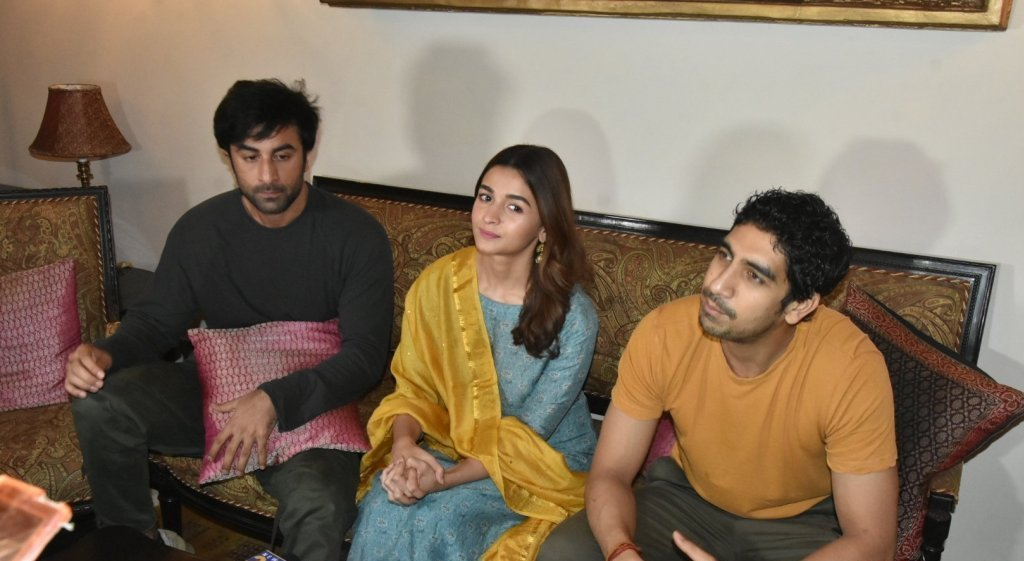 Nagarjuna, Alia, Ranbir At The Press Conference Of Brahmastra Movie