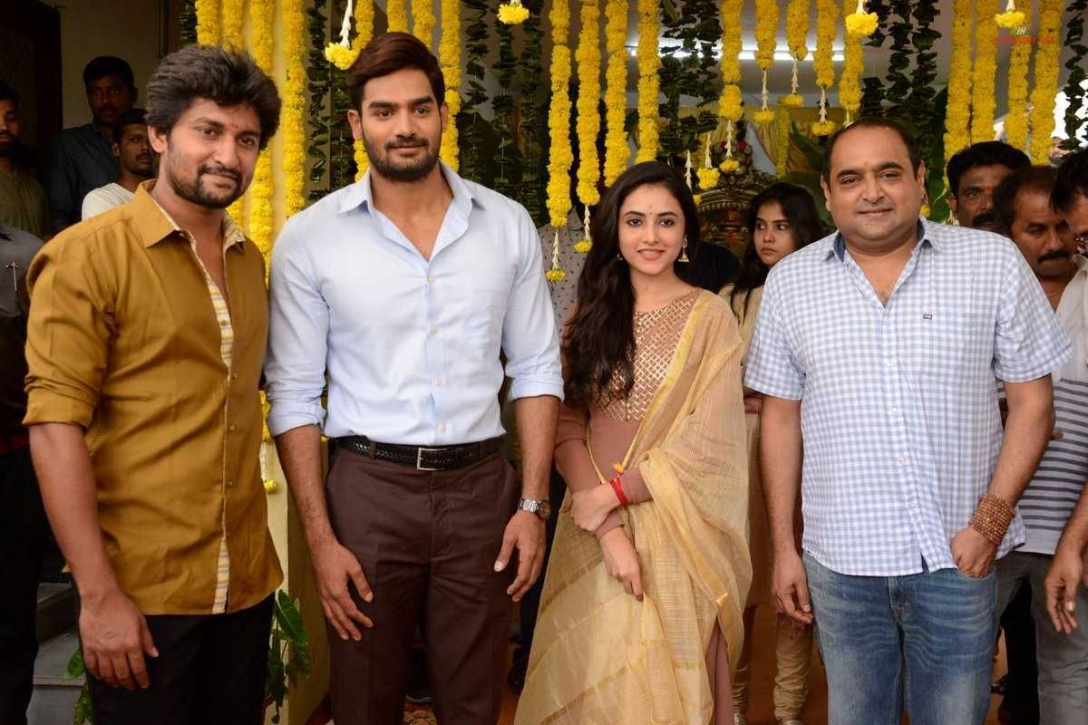Nani New Movie Launch Images