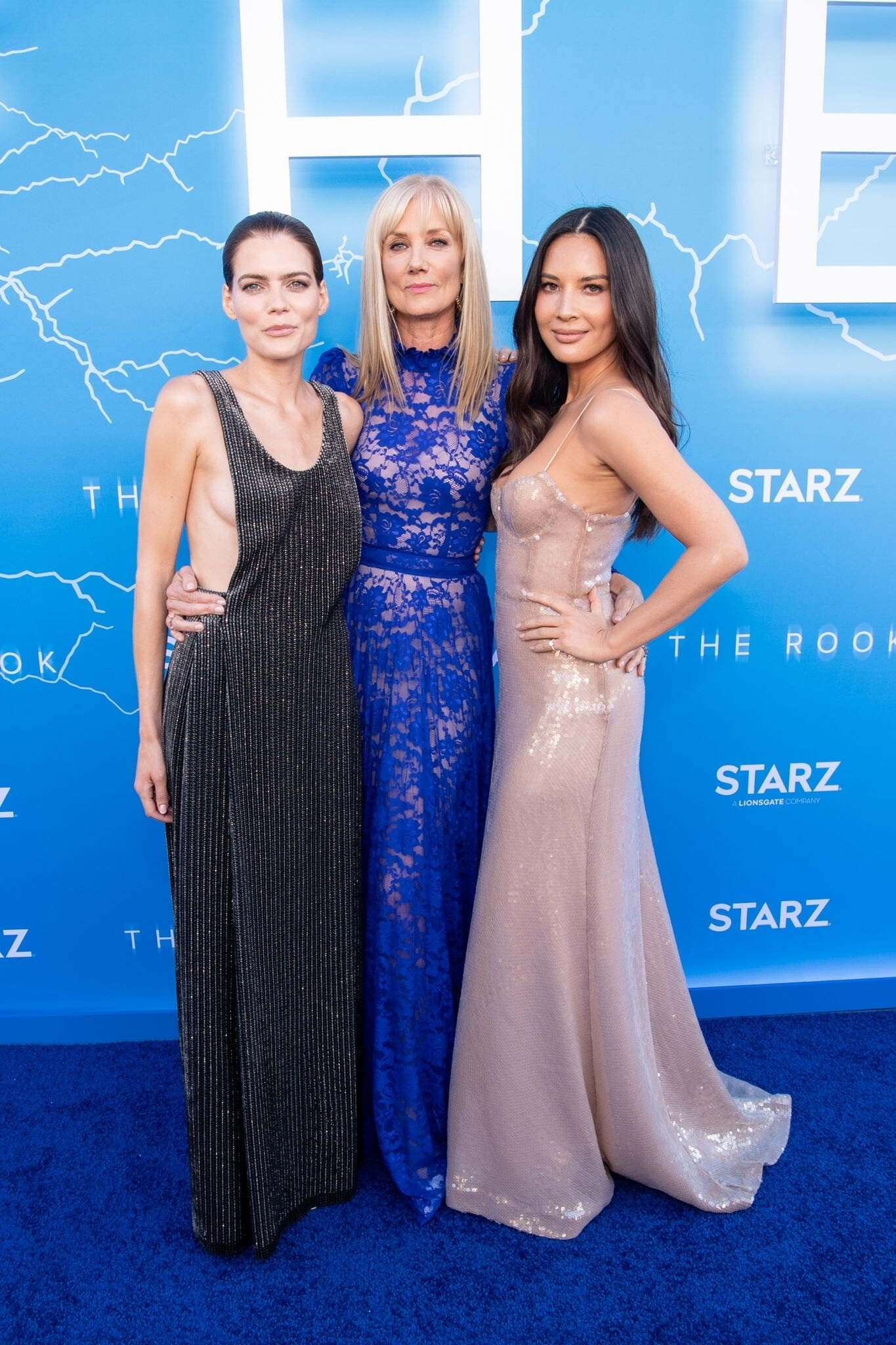 Olivia Munn At The Premiere Of THE ROOK In Los Angeles Set 2
