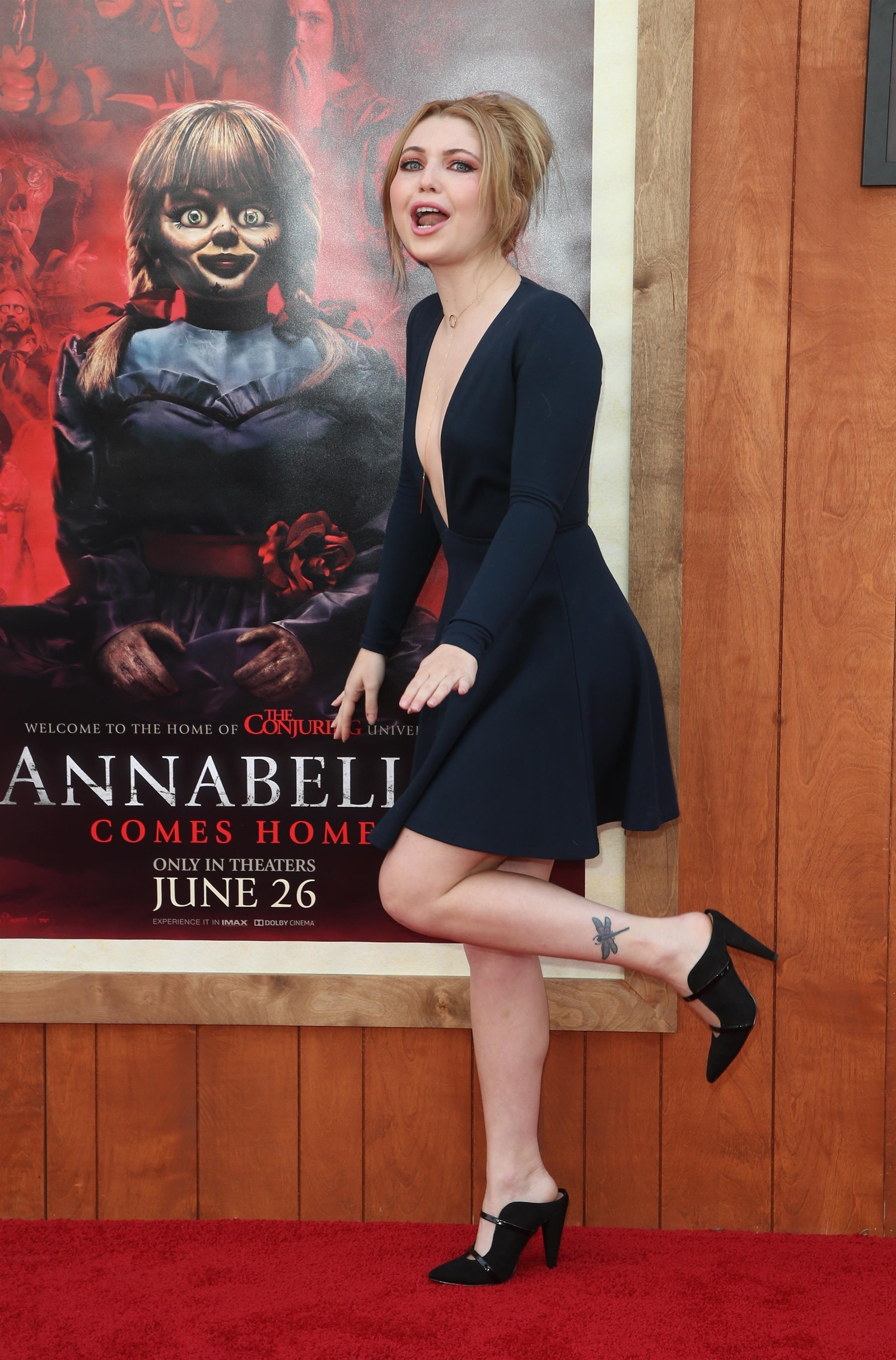 Sammi Hanratty At Annabelle Comes Home Premiere In Los Angeles